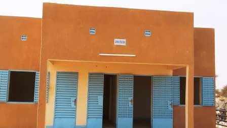 Réception provisoire du marché à bétail de Soubdou
