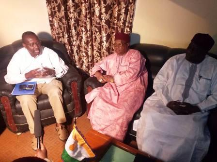 La mission conjointe de supervision des activités du PRAPS se trouvant dans la région de Maradi ont rencontré  le Gouverneur