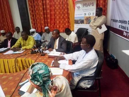 Poursuite ce matin des travaux entrant dans le cadre de la mission conjointe Gouvernement-Banque mondiale d'appui à la mise en œuvre du PRAPS