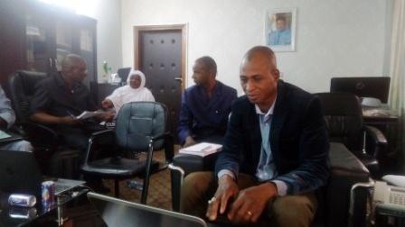 Prise de contacte et présentation de la mission d'appui en suivi évaluation du PRAPS régional avec Daouda Coulibaly