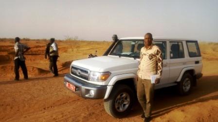 Mission sur les terres de récupération réalisées par le PRAPS à kieché (Dosso)