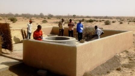 La Mission de Suivi évaluation sur le puits de Dodoria dans la commune de Dogon Kiria