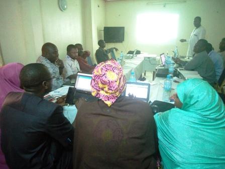 Atelier de formation des formateurs et des responsables de collecte de données sur l'outil KoboToolBox (KTB) à Konni (Tahoua) pour la phase pilote