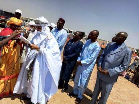 Lancement officiel à Ngall dans la région d'Agadez de travaux de construction des infrastructures pastorales