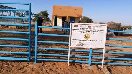 Réception provisoire du Marché à bétail de Katofou