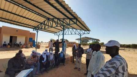 Réception provisoire du Marché à bétail de Tchintaborak