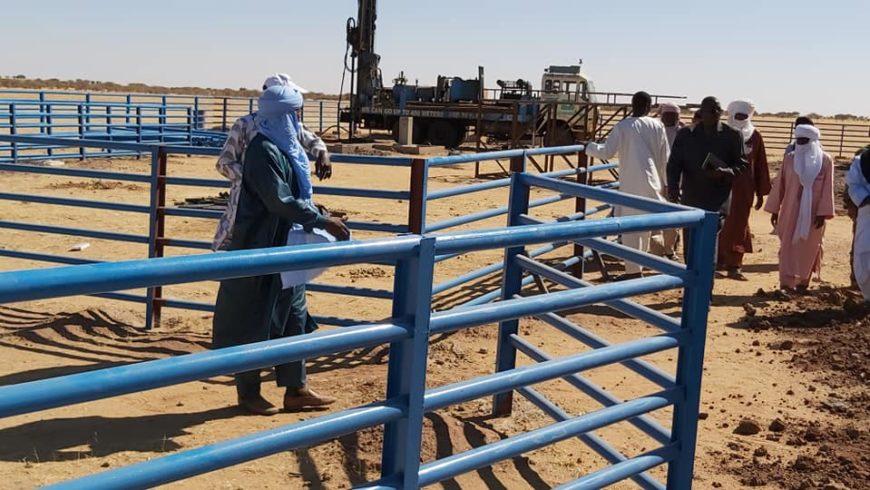 Réception provisoire du Marché à bétail de Abalama