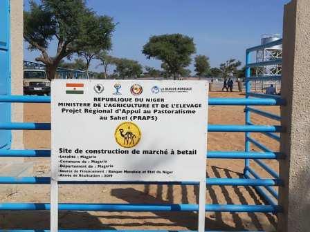 Réception provisoire du Marché à bétail de Magaria