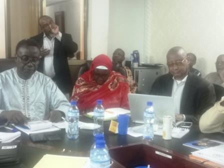 Sixieme Session du Comité National de Pilotage du PRAPS-NE