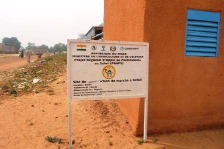 Réception du poste vétérinaire PRAPS NIGER de bande, département de magaria dans la région de ZINDER