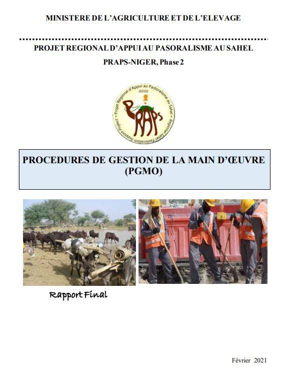 PROCEDURES DE GESTION DE LA MAIN D'ŒUVRE (PGMO)